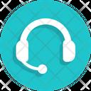 Headphone Support Icon