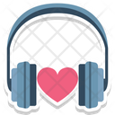 Headphone With Heart Love Inspiration Love Music Icon