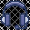 Headphone With Mic Headset Headphone Icon