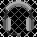Headphone With Mic Earphone Headphone Icon