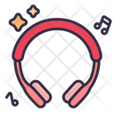 Headphone With Music Icon