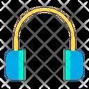 Headset Earphone Audio Player Icon