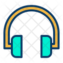 Headset Earphone Men Accessories Icon
