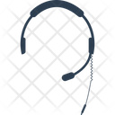 Cable Call Communication Icon