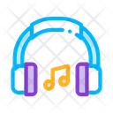Music Headphones Musical Icon
