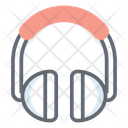 Headphone Set Headset Earbuds Icon