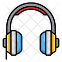 Headphone Set Headset Earbuds Icon