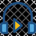 Headphones Earbuds Earphones Icon