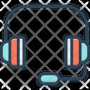 Headphones Service Operator Icon
