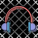Headphones Music Relaxing Icon