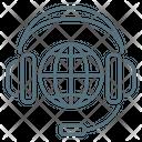 Coll Center Headphones Icon