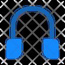 Headset Earphones Music Icon