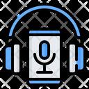 Headphones Earphones Smartphone Icon