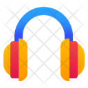 Headphones Music Listening Icon
