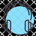 Headphones Headset Music Icon