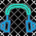 Headset Earphone Music Icon