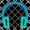 Audio Headphones Headset Icon