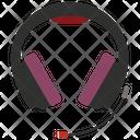Headphones With Mic Icon