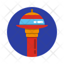 Headquarters Spacecraft Space Station Icon