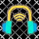 Smart Headset Smart Earphone Automation Icon
