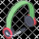 Headset With Mic Wireless Headset Headphone Icon