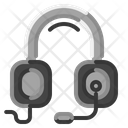 Headset Support Operator Icon