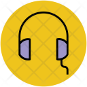Headset Headphone Earbuds Icon