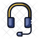 Headset Headphone Support Icon