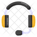 Headphones Headset Earpiece Icon