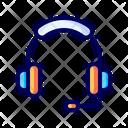 Music Headset Listen Icon