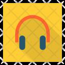 Headset Headphones Earphones Icon