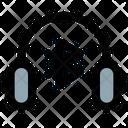 Headset Bluetoooth Bluetooth Headphone Wireless Headphone Icon