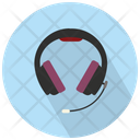 Headsets With Microphone Icon