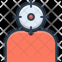 Headshot People Target Icon