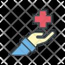 Healing Health Donation Donate Health Icon