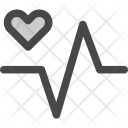 Health Heartbeat Life Icon