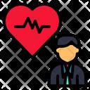 Health Heart Person Icon