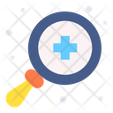 Health Magnify Scan Icon
