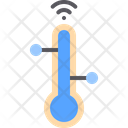 Thermometer Health Database Icon