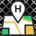 Health Clinic Hospital Icon