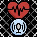 Health Voice Recording Life Icon