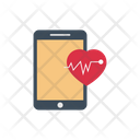 Health Online Mobile Icon