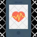 Mobile App Health Icon