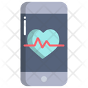 Health Application Heart Beat Application Application Icon