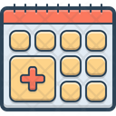 Health Appointment Icon