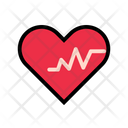Heart Hospital Health Care Icon