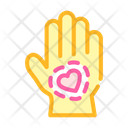 Healthy Hand Skin Icon