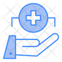 Health Care Medical Help Hand Icon