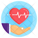 Heart Safety Heart Care Heart Protection Icon