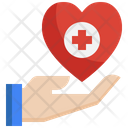 Health Care Hand Medical Icon